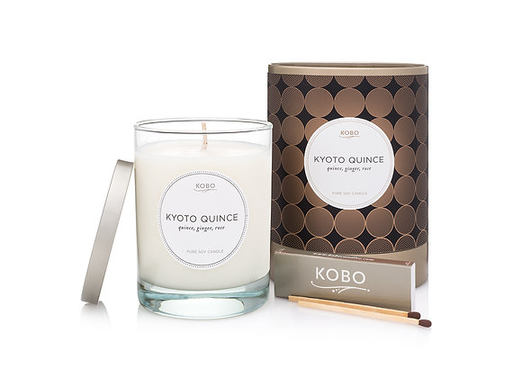Kyoto Quince Kobo Filament Series Candle