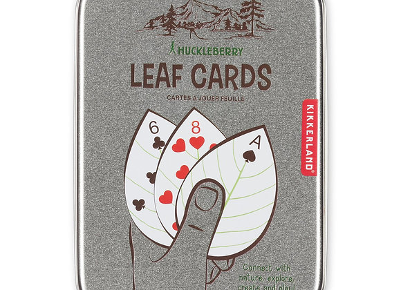 Huckleberry Leaf Playing Cards