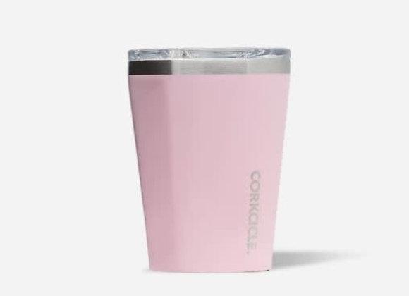 Gloss Rose Quartz 12oz Tumbler Cup