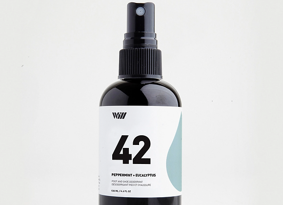 42 Peppermint & Eucalyptus Foot And Shoes Deodorant