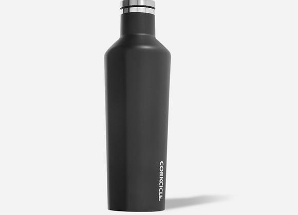 Matte Black 16oz Canteen Bottle