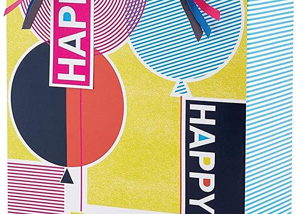 Birthday Print Large Gift Bag