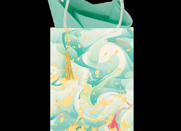 Marble Mad Seafoam Gift Bag