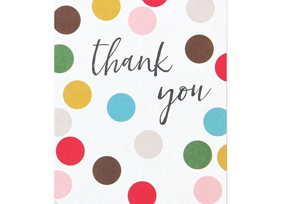 Dots Thank You Cards Set