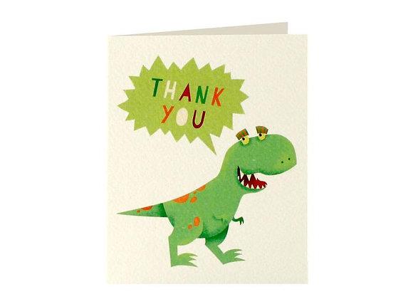 Dinosaur Thank You Cards Set