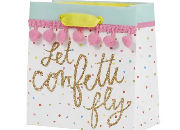 Confetti Fly Petite Gift Bag