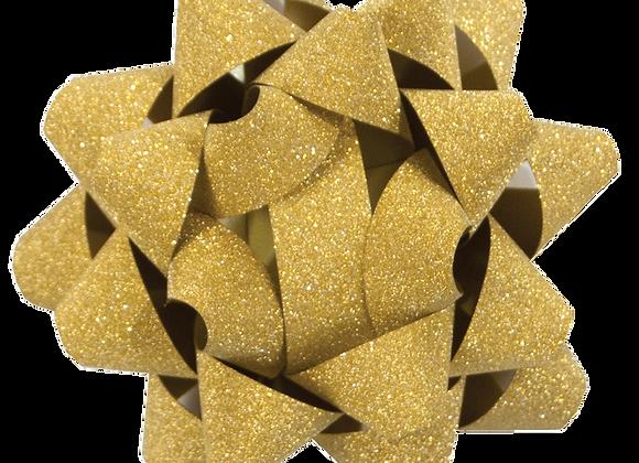 Glitter Star Bow Gold