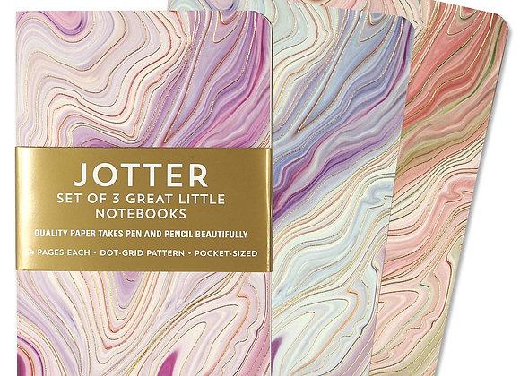 Jotter Notebook Sets Agate Set Of 3