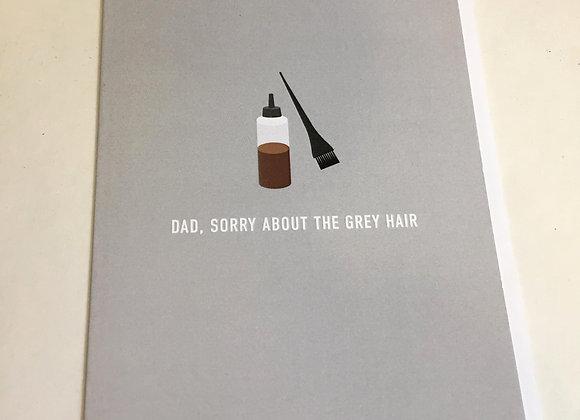 Grey Hair Dad Card