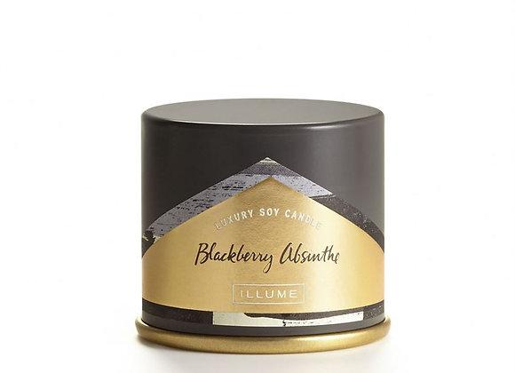 Blackberry Absinthe Tin Candle