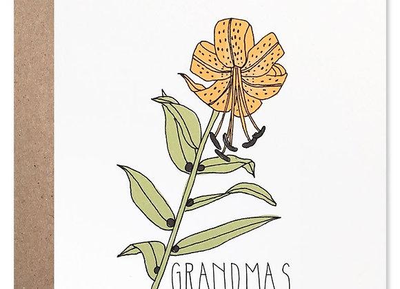 Grandmas Are The Best Card