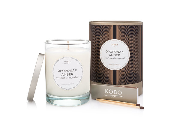 Opoponax Amber Kobo Filament Series Candle