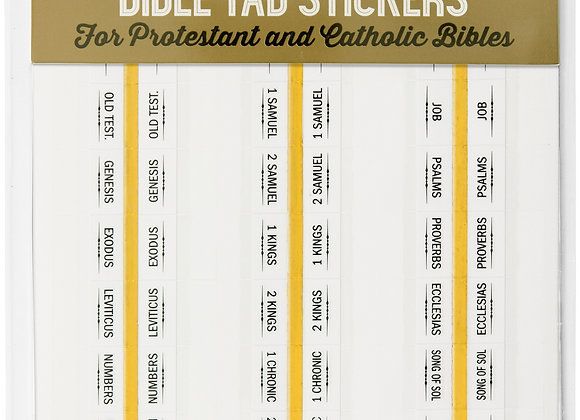 Planner Stickers Bible Tab