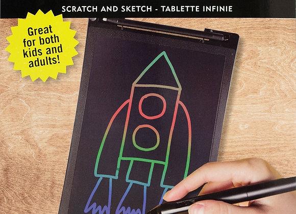 Scratch & Sketch Infinity Pad