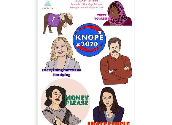 Parks Sticker Pack