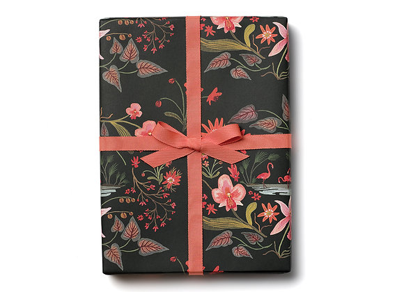 Pink Flamingos Flat Wrap Sheet