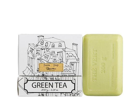 Green Tea White Boxed 200g Soap