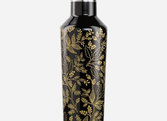 Rifle Paper Black Queen Anne 16oz Canteen Bottle