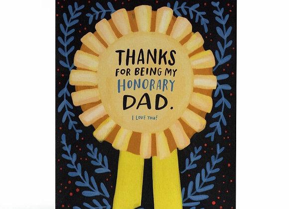 Honorary Dad Card