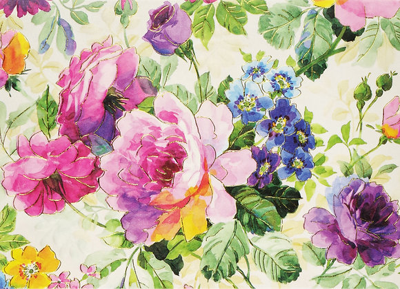 Peony Garden Blank Boxed Cards
