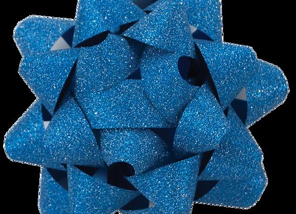 Glitter Star Bow Indigo