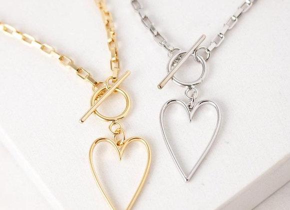 Lovestruck Heart Necklace