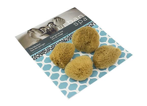 4ever The Fabulous Face Sea Sponges 4/pk
