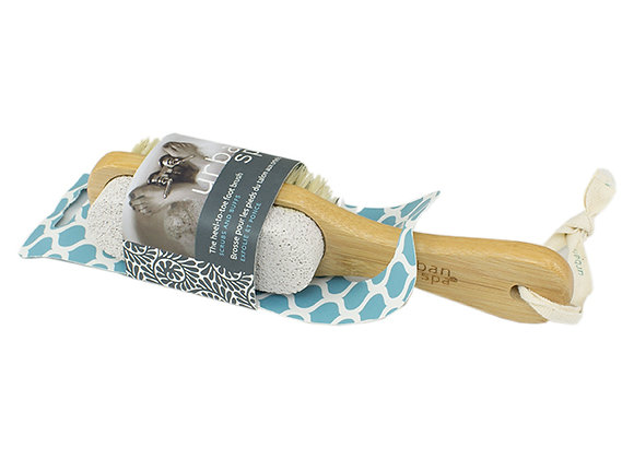 4ever Head To Toe Foot Brush With Pumice Stone