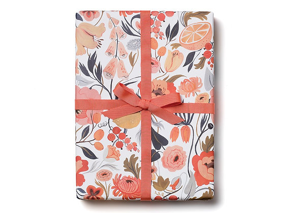 Citrus Peach Flat Wrap Sheet