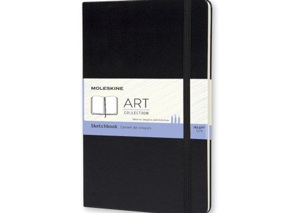 Art Collection Pocket Black Sketching Book