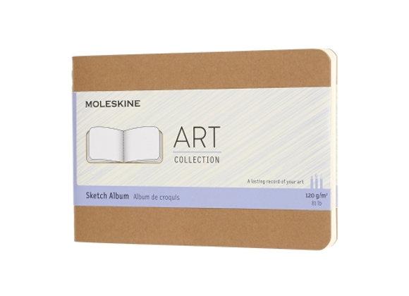 Art Collection Kraft Brown Sketch Album