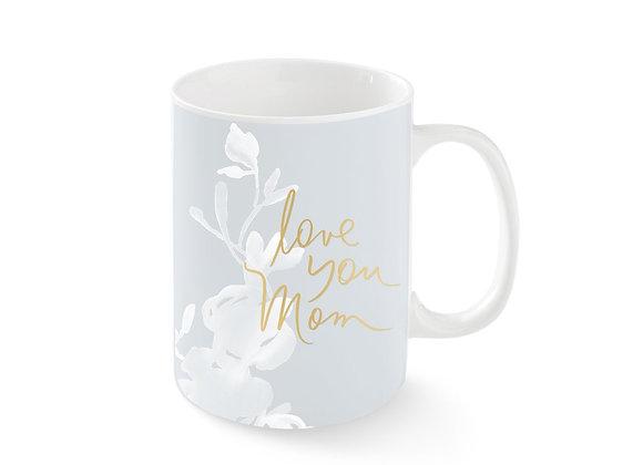 Love You Mom Garland Mug