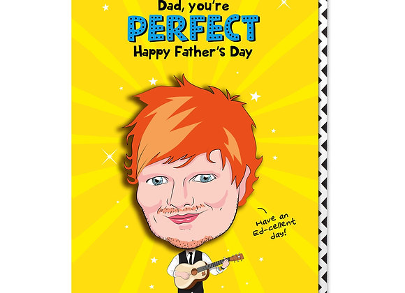 Ed Sheeran Dad Card