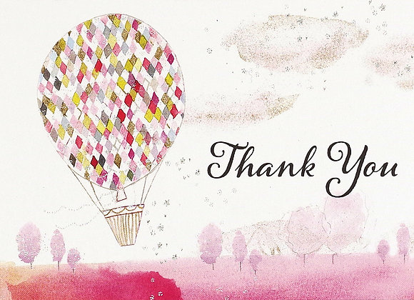 Lighter Than Air Thank You Boxed Cards
