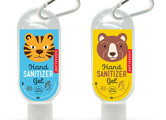 Animal Face Hand Sanitizer Gel