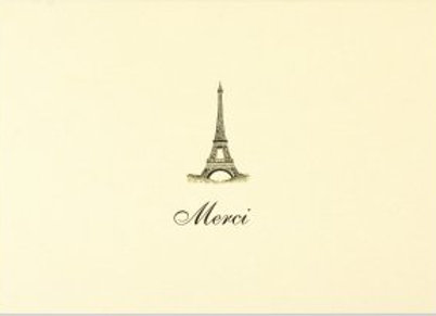 Merci Thank You Boxed Cards