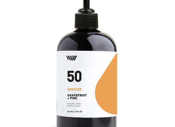 50 Grapefruit & Pine Energize Hand & Body Lotion