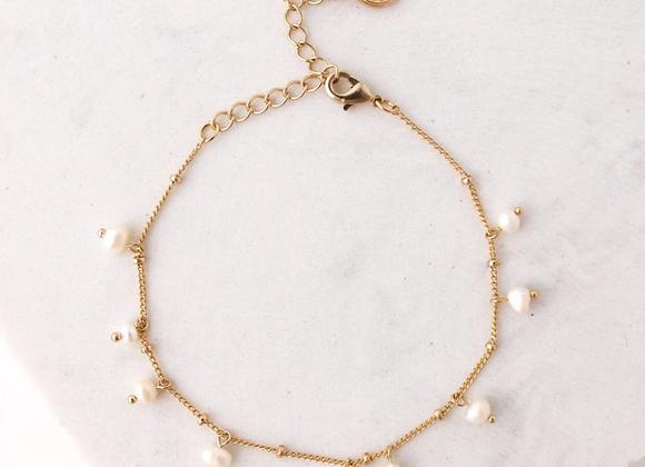 Dot Pearl Bracelet Pearl
