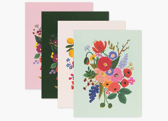 Assorted Garden Party Blank Boxed Cards