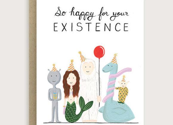 Mythical Creature Birthday Card