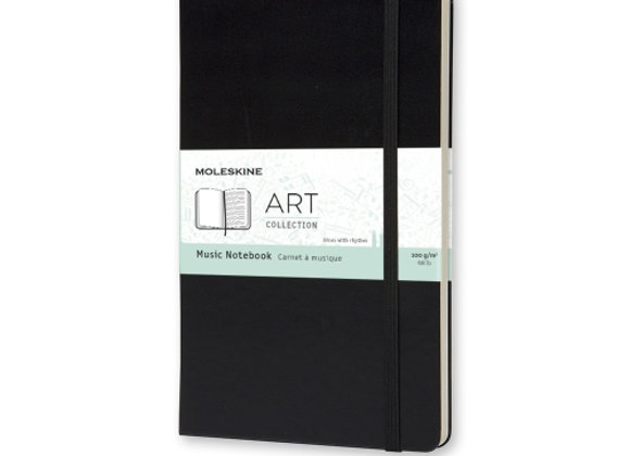Art Collection Large Music Notebook