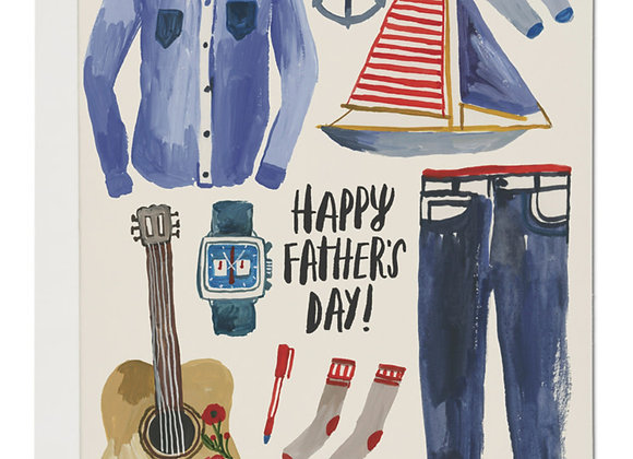 Father's Things Card