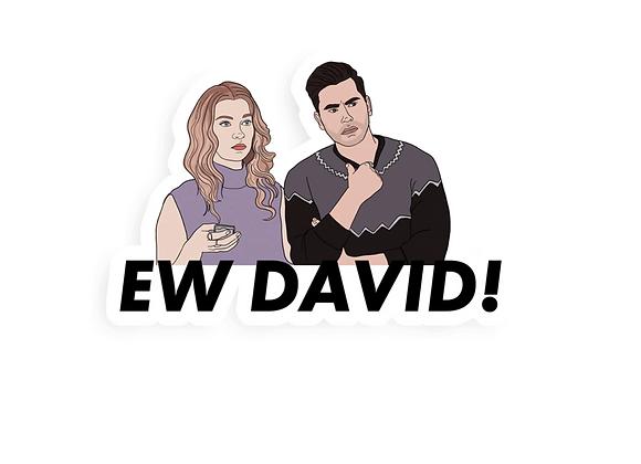 Ew David Single Sticker