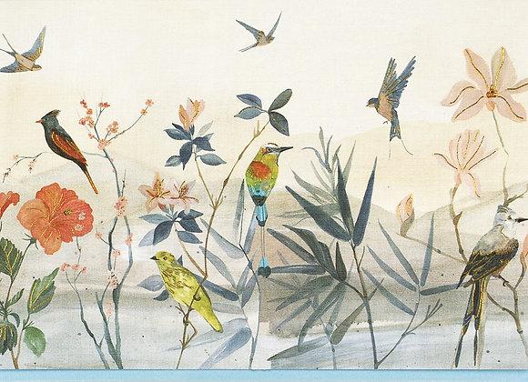 Bird Garden Blank Boxed cards