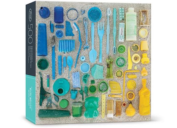500 Piece Puzzle Blincoe Beach Trash