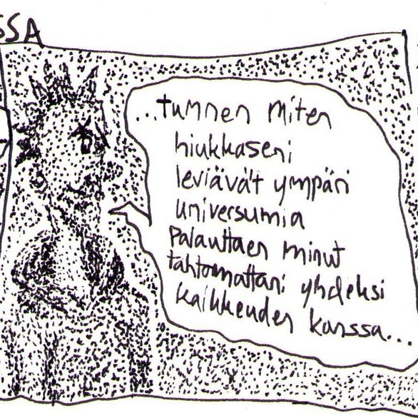 Pahoinvoinnin Spiraalissa comic strip