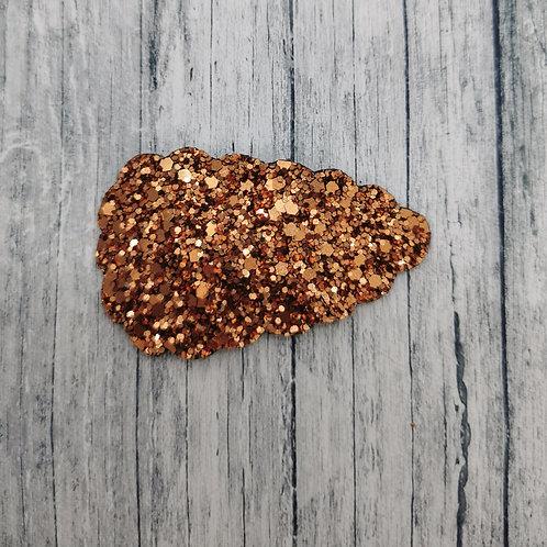Copper Glitter Snap