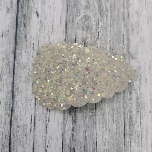 Ivory Glitter Snap