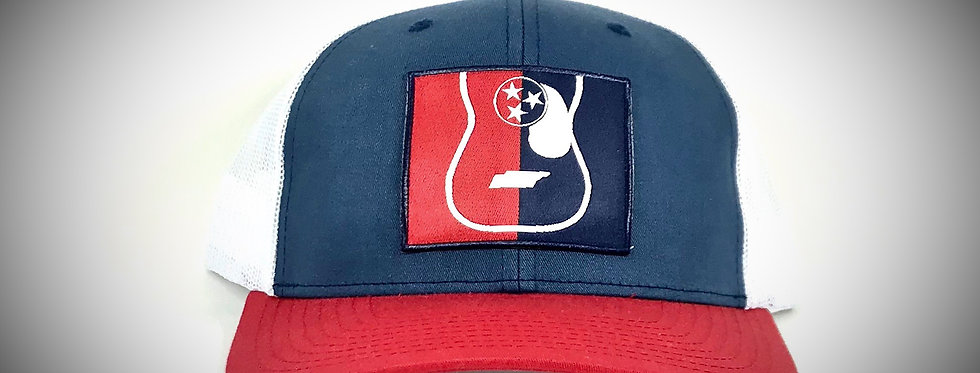 "Tennessee ""Tristar Guitar"" Patch Hat"