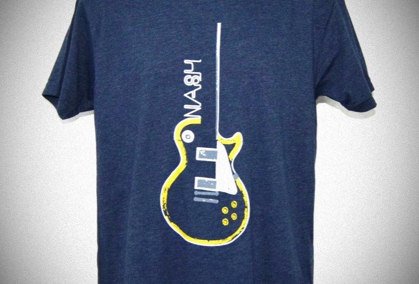 Les Paul Guitar Unisex Crew